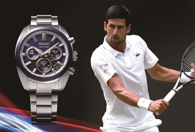 Seiko Astron GPS Solaire Novak Djokovic