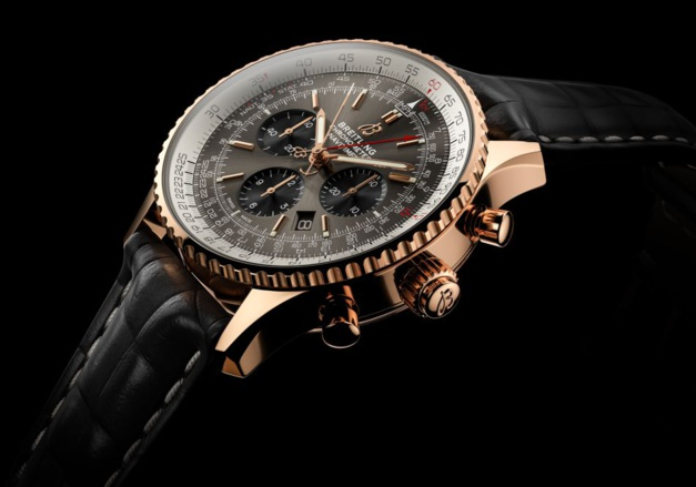 Breitling Navitimer B03 chrono rattrapante COSC en or rouge