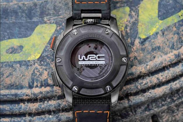 Anonimo chrono Militare WRC