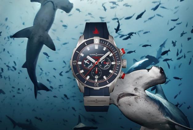 Ulysse Nardin Diver Chronograph Hammerhead shark