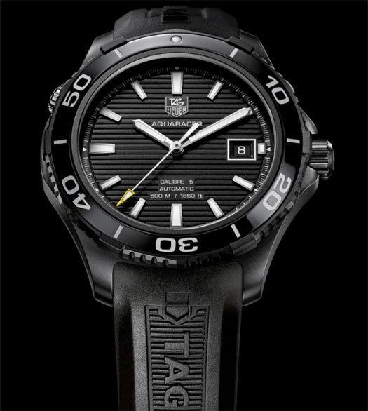 Coupe de l'America : TAG Heuer, partenaire d'Oracle Team USA présente sa nouvelle collection Aquaracer 500 M