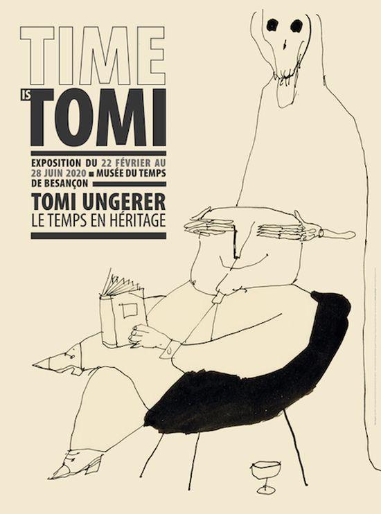 Besançon : Time is Tomi, première rétrospective consacrée à Tomi Ungerer sur le temps