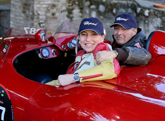 Chopard partenaire de la course Mille Miglia depuis plus de deux décennies…