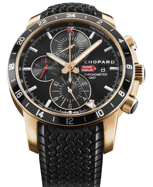 Mille Miglia GMT Chrono 2012 or rose