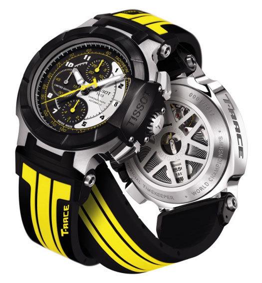 Tissot lance sa collection MotoGP 2012