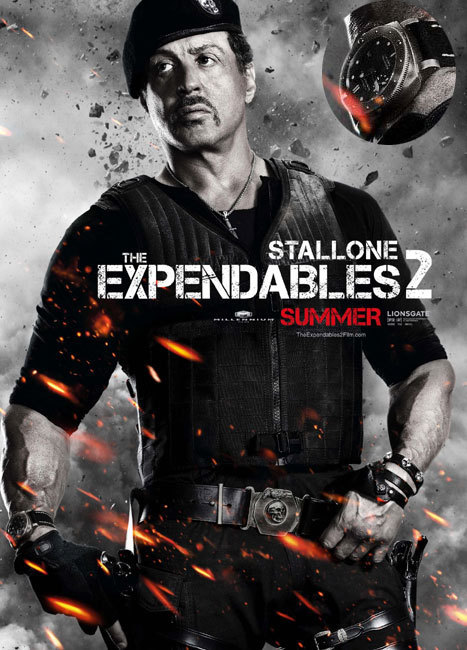 Expendables 2, Sylvester Stallone, DR