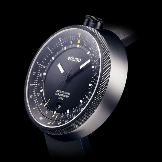 Bólido X LOG black Chronometer