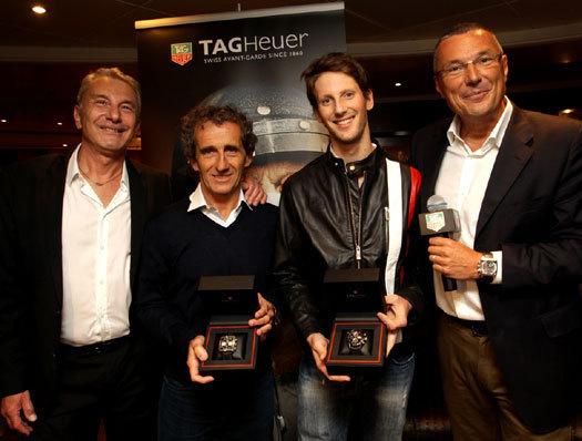 TAG Heuer : Romain Grosjean devient ambassadeur de la marque horlogère suisse