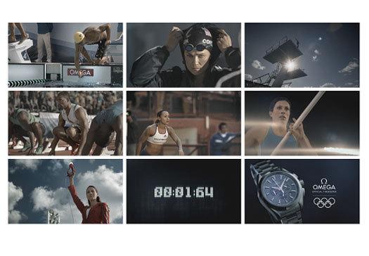 Omega présente sa campagne publicitaire mondiale pour les JO de Londres