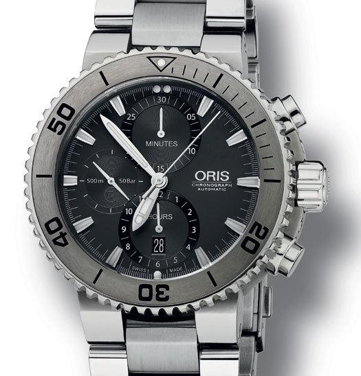 Chronographe Oris Aquis Titan