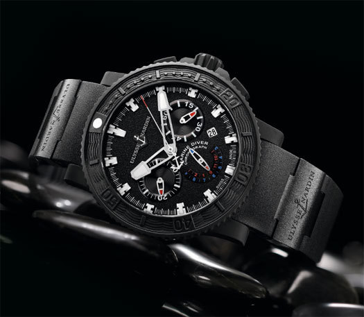 Ulysse Nardin Black Sea Chronograph
