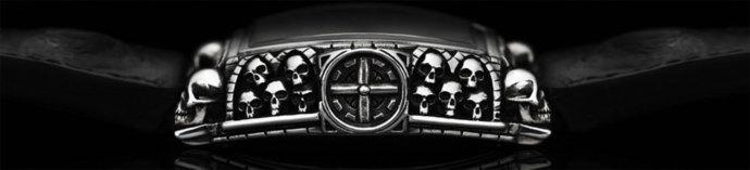 Memento Mori Agonium : montre gothique