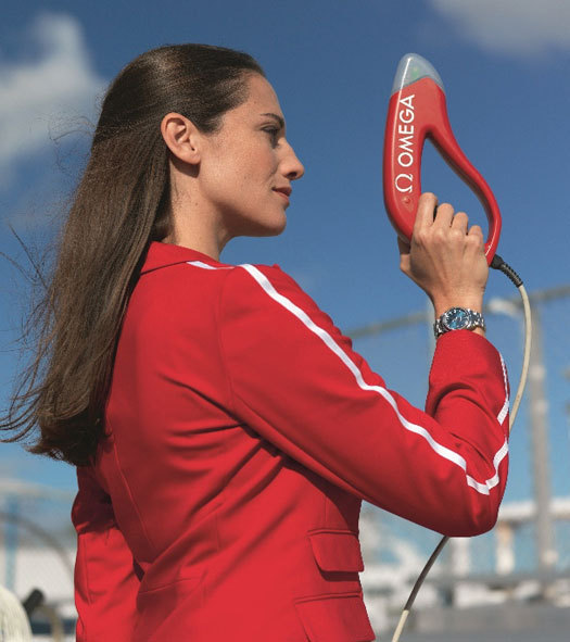 Omega : les nouvelles technologies de chronométrage mises en place pour les JO de Londres 2012