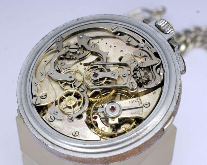 Enchères : le chronographe Eberhard & Co Sistema Magini adjugé 56.000 euros