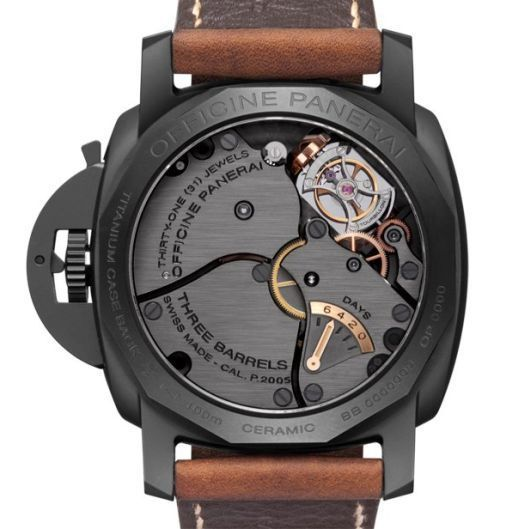 Panerai Luminor 1950 Tourbillon GMT Ceramica - 48 mm