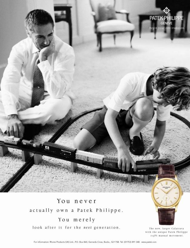 Montres de luxe : tel père, tel fils