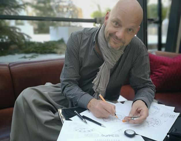 Alexandre Peraldi pour Ikepod