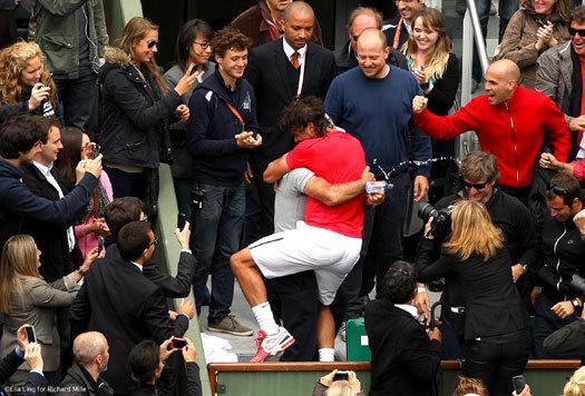Roland Garros 2012 : Rafael Nadal entre dans l'histoire du sport, avec sa Richard Mille au poignet…