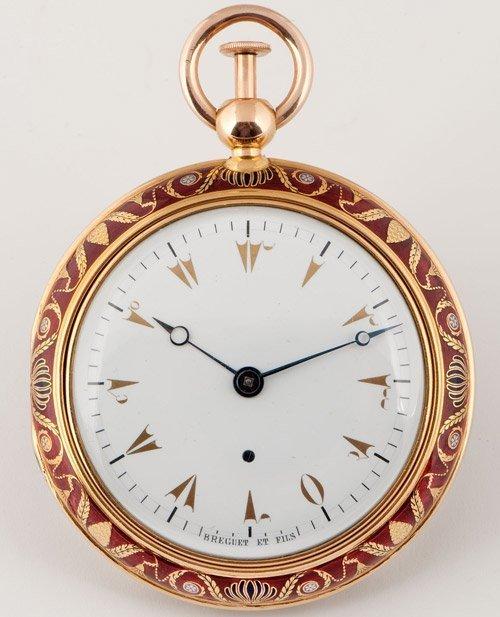Breguet : plus de 500.000 euros pour une montre turque lors d'une vente aux enchères à Pékin