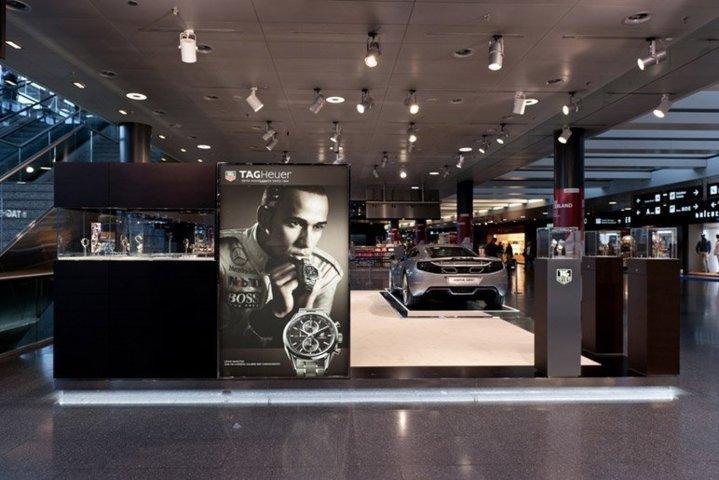 Boutique TAG Heuer à Zurich
