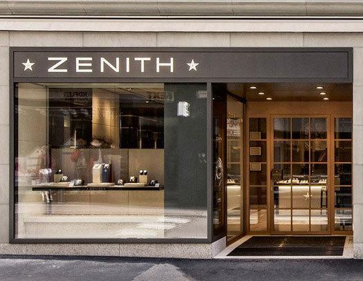 Zenith : ouverture d'une boutique exclusive à Lucerne en Suisse
