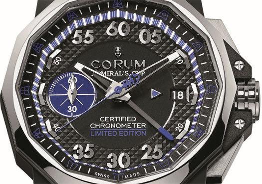 Corum Admiral's Cup 44 Chrono Centro Bol d'Or Mirabaud : toutes voiles dehors