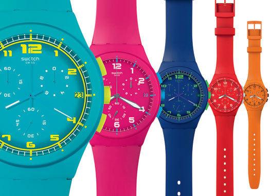 Swatch Chrono Plastic : le plastique c'est fantastique !