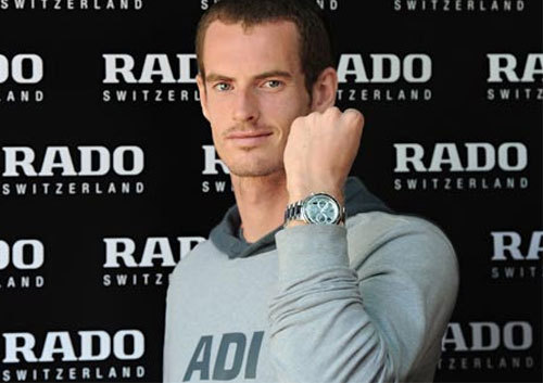 Andy Murray, ambassadeur Rado