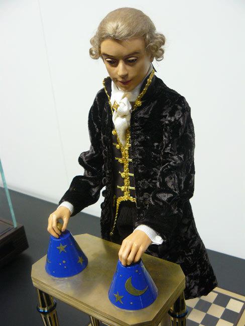 Le magicien de Jaquet Droz