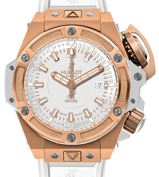 Hublot Oceanographic 4000 King Gold White 48mm
