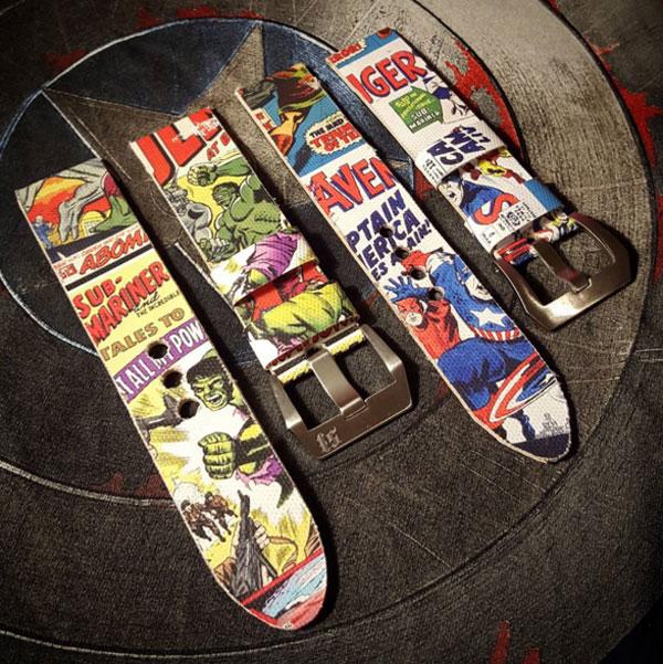 Comic straps