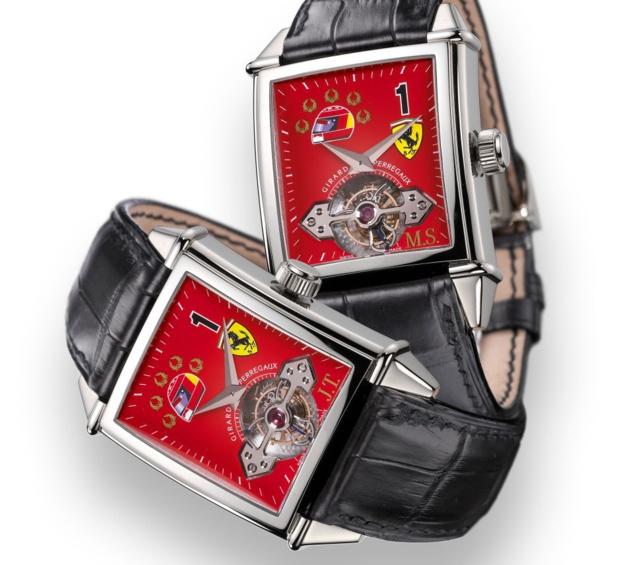 Girard-Perregaux : les plus belles montres automobiles dédiées à Ferrari