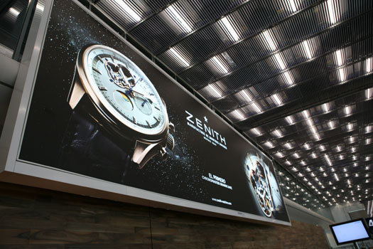 Zenith : star du satellite 4 de l'aéroport Paris-Charles de Gaulle