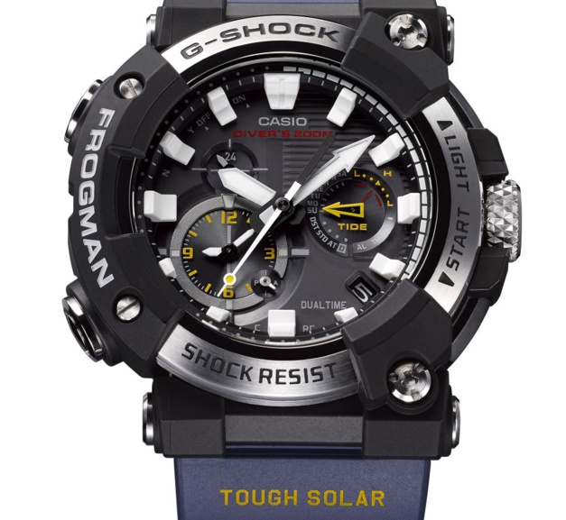 """G-Shock dévoile sa nouvelle """"plongeuse"""" Frogman qui est analogique pour la première fois !"""