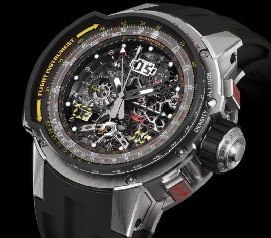 Richard Mille RM 039 Tourbillon Aviation E6-B Flyback