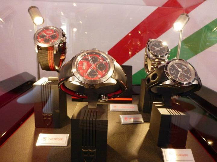 Tudor et Ducati : montres et monstres mécaniques