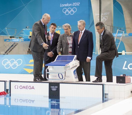 Pour Omega, les Jeux Olympiques de Londres ont déjà commencé !