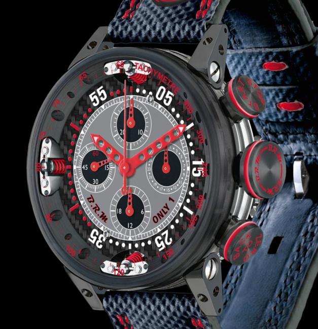 BRM Only 1 chrono double fuseau et quantième en pièce unique
