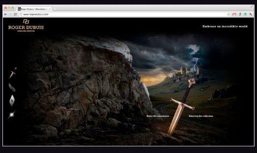Roger Dubuis lance son nouveau site web