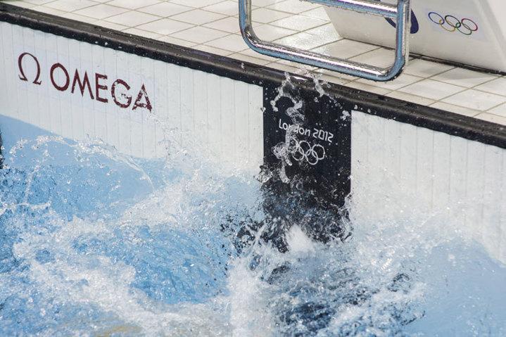 J.O. 2012 : le chronométrage de la natation selon Omega