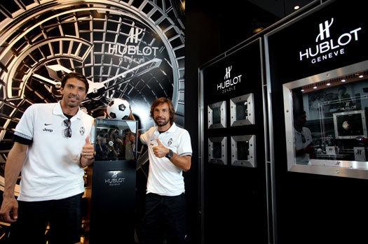 Hublot devient chronométreur officiel de la Juventus de Turin
