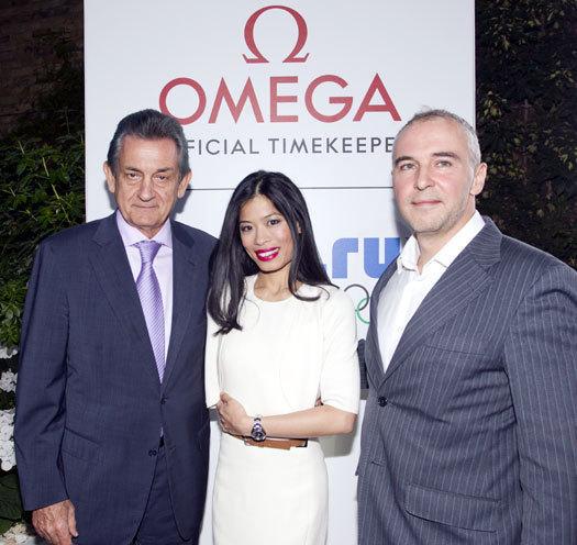 Vanessa-Mae : nouvelle ambassadrice Omega