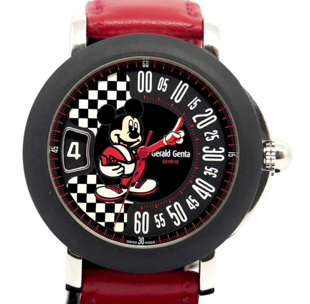 "Genta ""Mickey"" Fantasy : la montre la plus fun et la plus horlogère à collectionner"