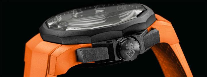 Corum Admiral's Cup Challenger 44 Chrono Rubber : de la douceur du caoutchouc…