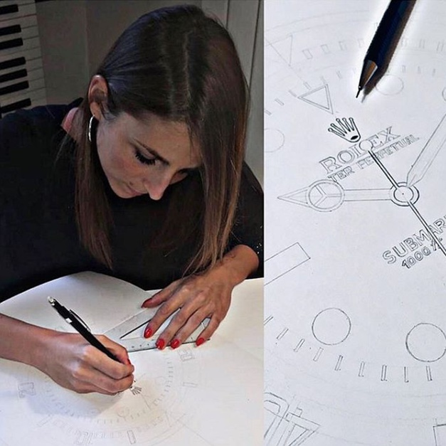 Camille Caravaca ou comment la Covid-19 lui a donné l'envie de dessiner des montres !