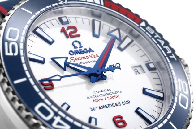 Omega Seamaster Planet Ocean Coupe de l'America