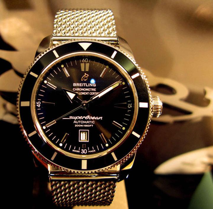 Breitling SuperOcéan Héritage : l'avis de Lionel Kallmann, spécialiste de la marque au « b » ailé