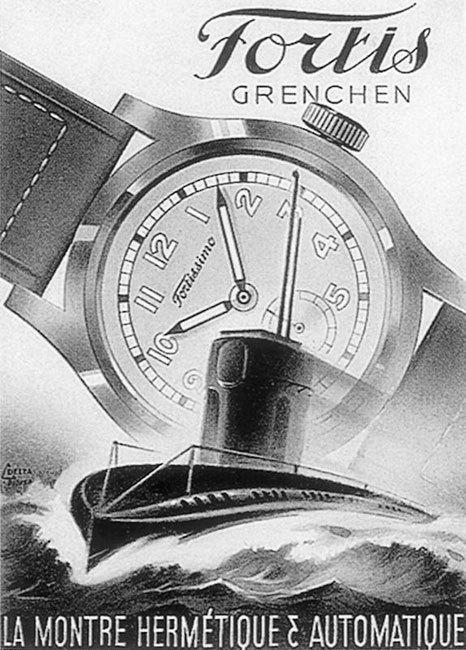 Fortis : belle marque horlogère centenaire !