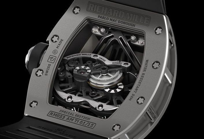 Tourbillon Richard Mille RM 053 Pablo Mac Donough : à toute épreuve