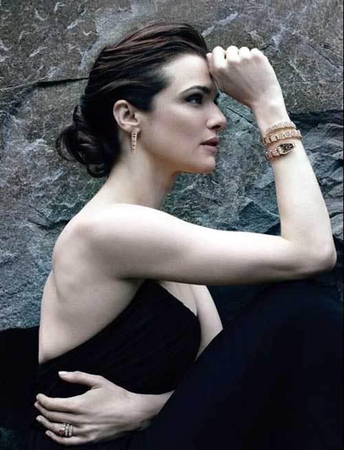 Rachel Weisz, le visage de la nouvelle campagne de publicité Serpenti © Annie Leibovitz